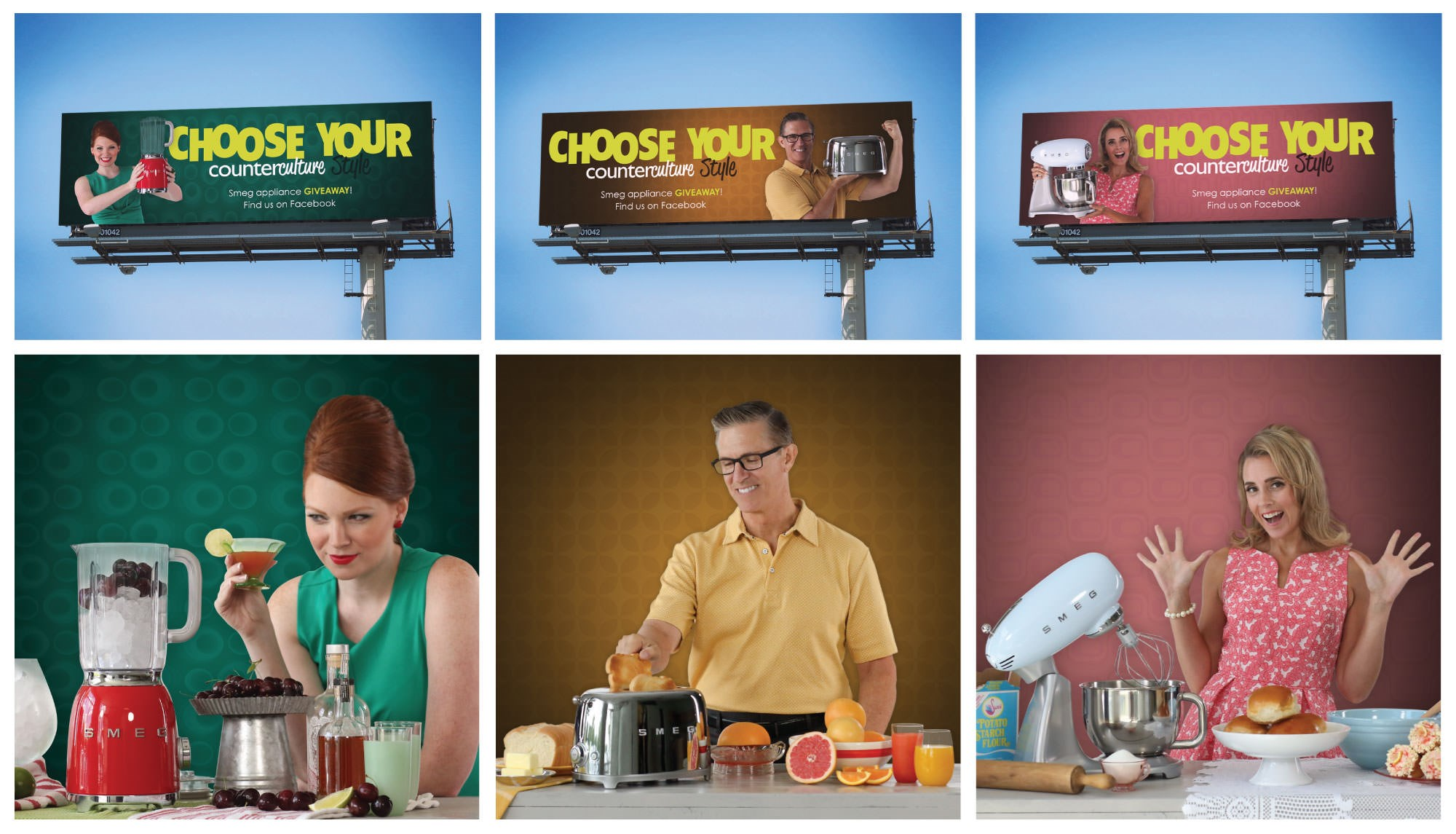 Counter Culture Contest Billboard and Images