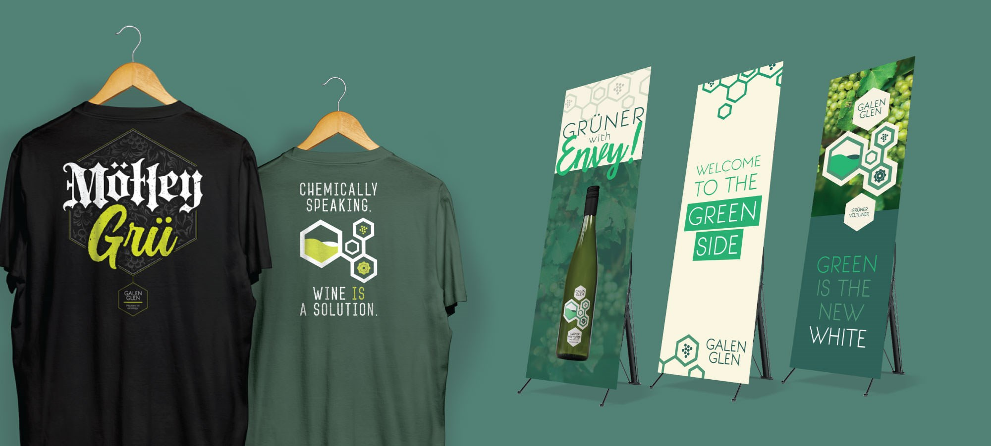 Galen Glen T-shirts and Banners