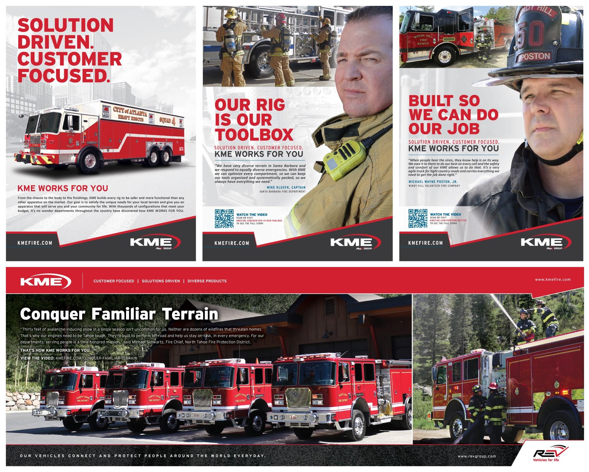 KME Print Ads