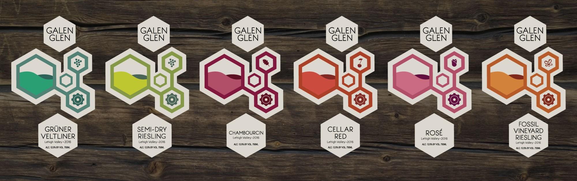 Galen Glen Labels