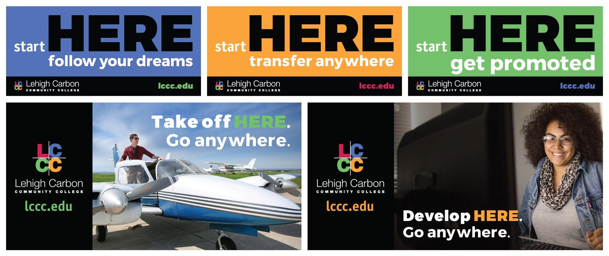 LCCC Billboards