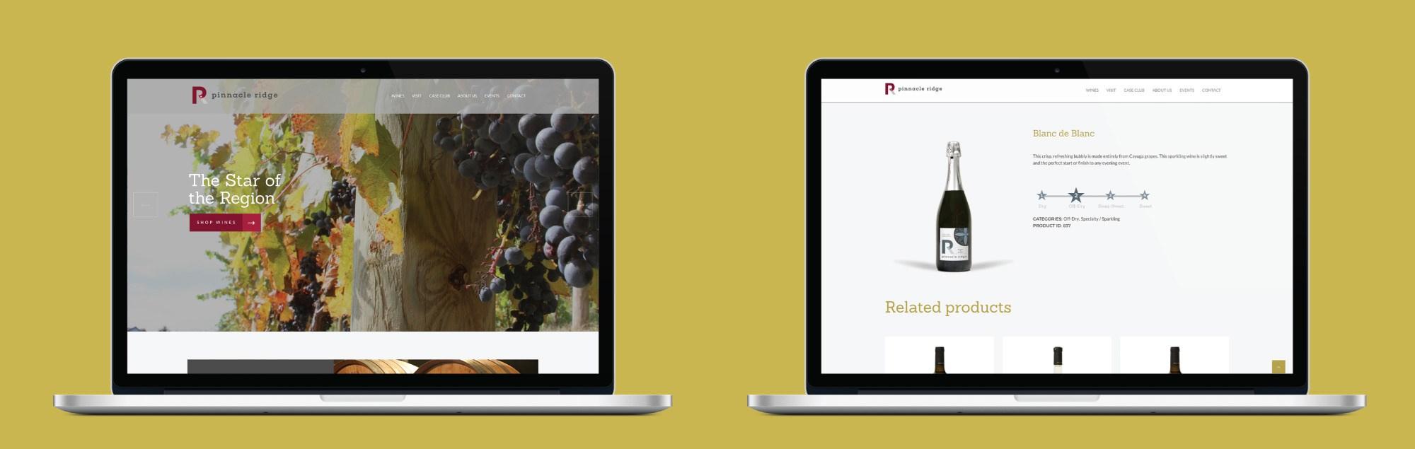 Pinnacle Website Homepage